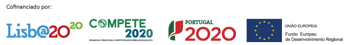 Cofinanced by: Lisboa2020, Compete2020, Portugal2020, European Unium